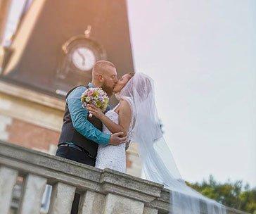 Сватбена фотография от Балин Балев - Целувката на брака