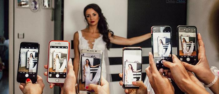 Сватбена фотография - добри идеи при позирането